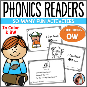 "Phonics Emergent Reader  {Diphthong ""OW""}"