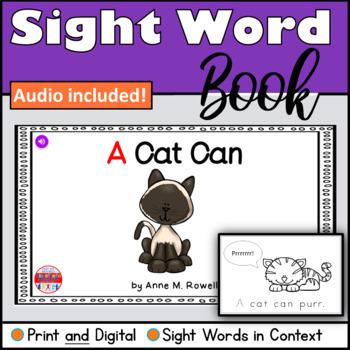 Sight Word Book Emergent Reader - A