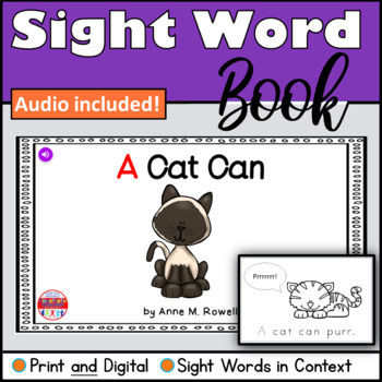 Sight Word Book Emergent Reader - A