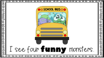 Sight Word Book Emergent Reader - FUNNY