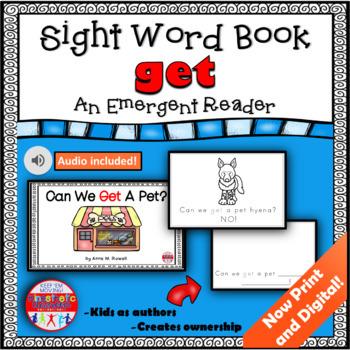 Sight Word Book Emergent Reader - GET