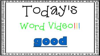 Sight Word Book Emergent Reader - GOOD