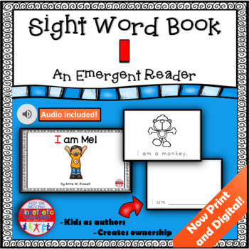 Sight Word Book Emergent Reader - I