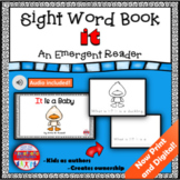 Sight Word Book Emergent Reader IT