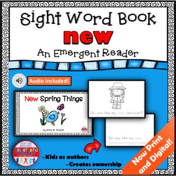 Sight Word Book Emergent Reader - NEW