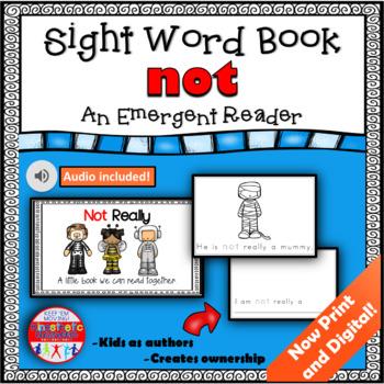 Sight Word Book Emergent Reader - NOT