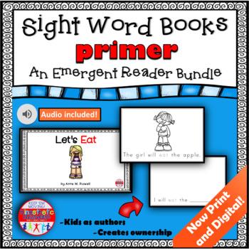 Sight Word Book Set - Primer