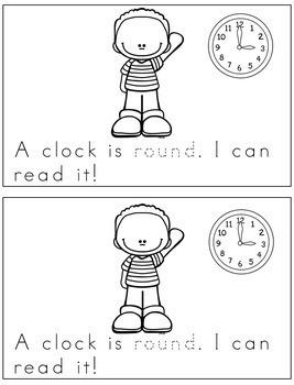 Sight Word Book Emergent Reader - ROUND