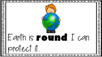 Sight Word Book Emergent Reader ROUND