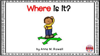 Sight Word Book Emergent Reader - WHERE
