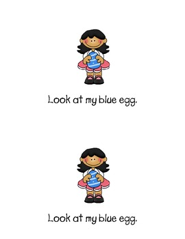 Emergent Reader - Easter