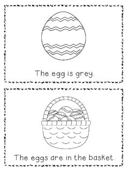 Emergent Reader- Easter Eggs