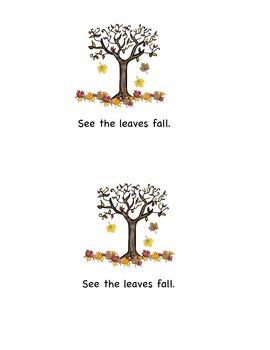 Emergent Reader: Fall