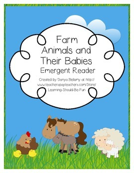 Emergent Reader: Farm Animals and Their Babies
