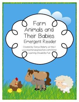 Emergent Reader: Farm Animals and Their Babies