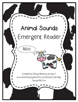 Emergent Reader: Farm Animals and Their Sounds