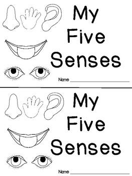 Emergent Reader {Five Senses}