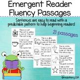 Emergent Reader Fluency Passages Kindergarten