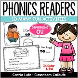 "FREE Diphthong ""OU"" Phonics Reader"