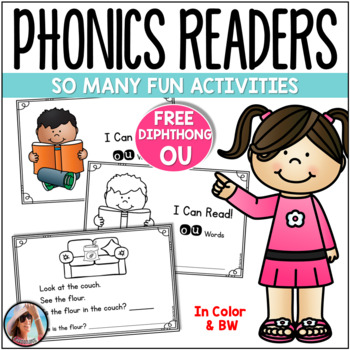 "FREE Diphthong ""OU"" Phonics Reader"