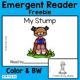 "Emergent Reader Freebie - ""My Stump"" (CVC Mix, Blends, Short Vowel)"