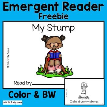 """Emergent Reader Freebie - """"My Stump"""" (CVC Mix, Blends, Sho"""