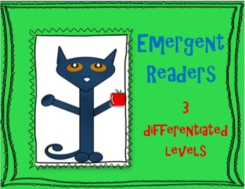 Emergent Reader - Friends at School