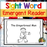 Emergent Readers Gingerbread Man