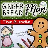 Gingerbread Man Math & Literacy Bundle - 20 Activities - 210 printing pages