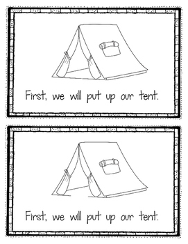 Emergent Reader:  Going Camping (DRA Level 4/6)