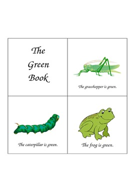 Emergent Reader - Green Book