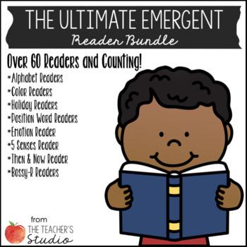 Emergent Reader Growing Bundle! 60+ Readers Included