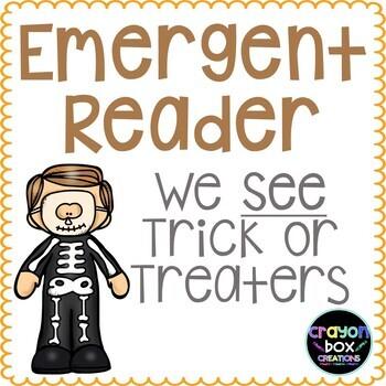 Emergent Reader - Halloween Trick or Treat Book