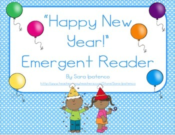 "Emergent Easy Reader: ""Happy New Year!"""