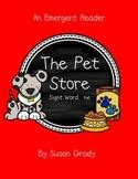 Pet Emergent Reader {Sight Word:  He}