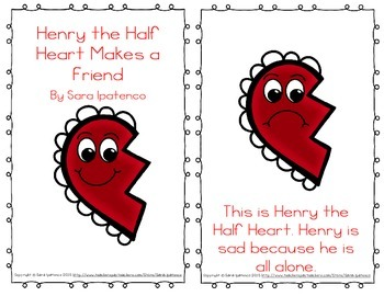"Emergent Easy Reader: ""Henry the Half Heart Makes a Friend"""