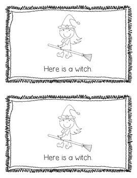 Emergent Reader: Here is Halloween