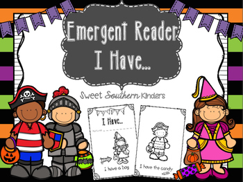 "Emergent Reader I ""Have""... Halloween Edition"