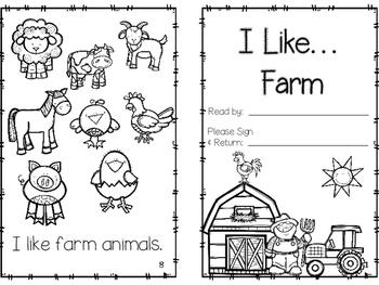 """Emergent Reader I """"Like""""... Farm Edition"""