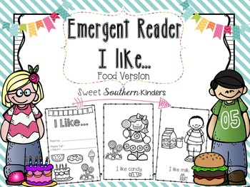 "Emergent Reader I ""Like""... Food Edition"