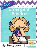 Emergent Reader {I Like}