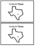 Emergent Reader - I Live in Texas- Sight Words: There, Are, In