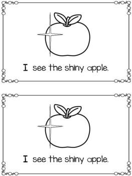 Emergent Reader: {I See Apples}