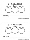 Emergent Reader: {I See Apples}