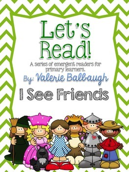 Let's Read Series - I See Friends