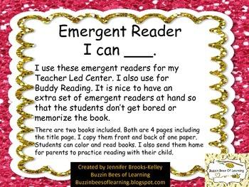 "Emergent Reader ""I can ___."""
