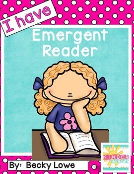 Emergent Reader {I have}