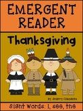 Thanksgiving Emergent Reader I see the