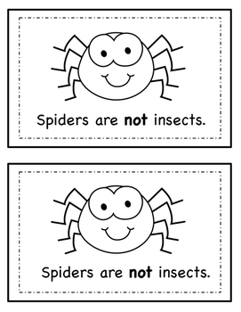 Nonfiction Emergent Reader- Insects