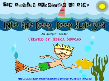 Emergent Reader- Into the Deep, Deep Blue Sea